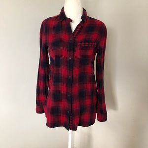 Madewell-Flannel shirt
